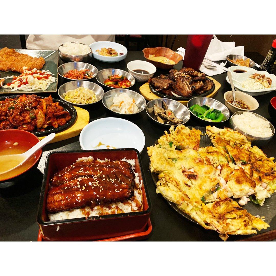 韩餐有种满足感