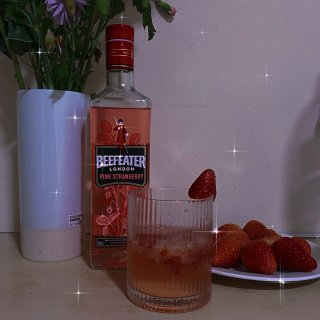 Beefeater Pink Strawberry Flavoured Gin,