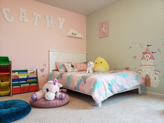 儿童房软装潢