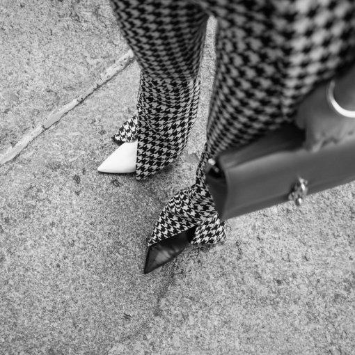【Look 130】黑⬛️白⬜️#7天美鞋打卡#