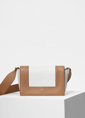 Medium Frame bag in shiny smooth calfskin - Handbags | CÉLINE