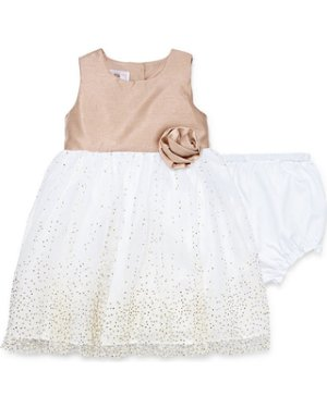 New Savings are Here! 50% Off Marmellata Short Sleeve Ballerina Dress - Baby Girls