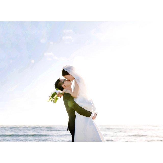 婚礼正片小分享—纯白的梦