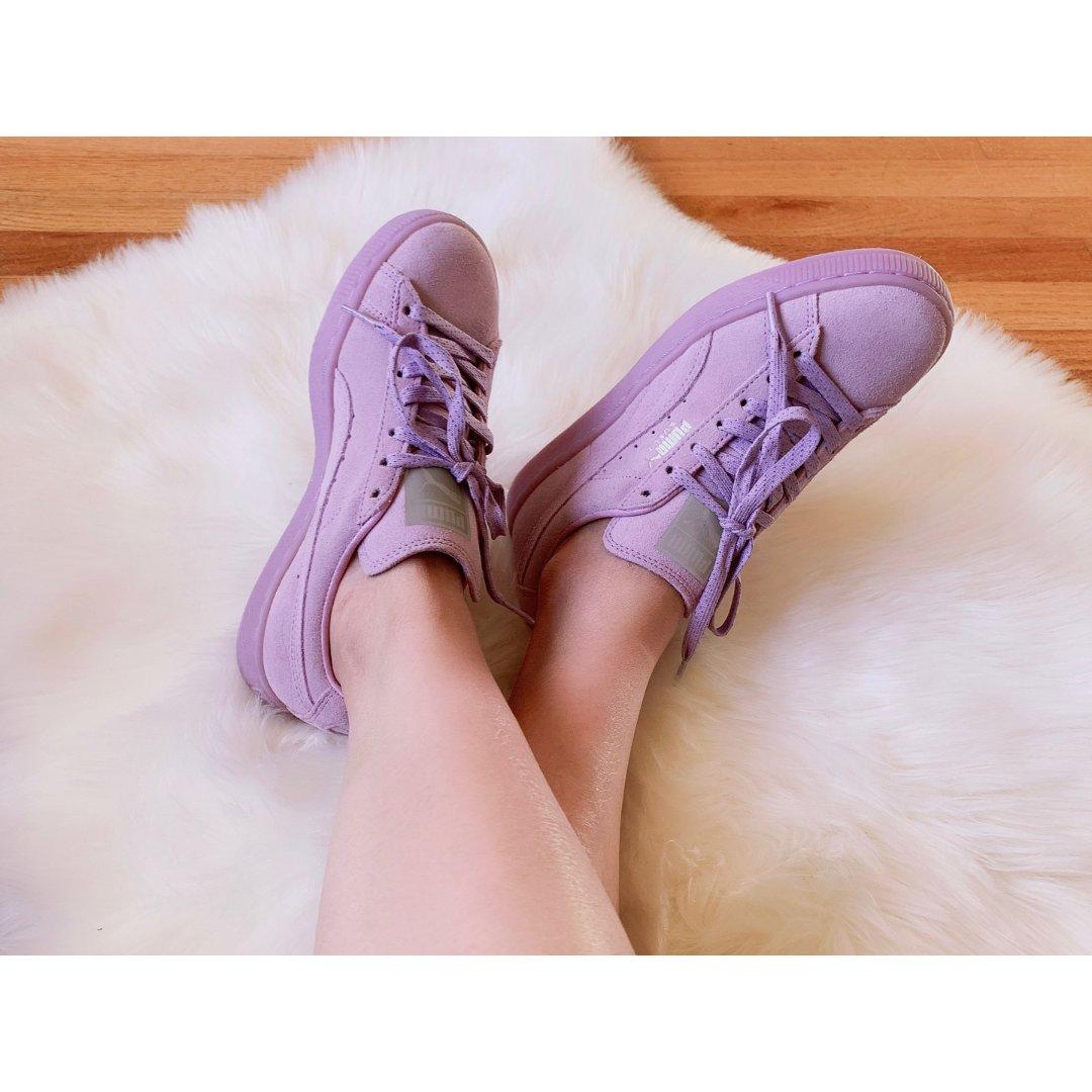 适合秋天的鞋子 | Puma板鞋