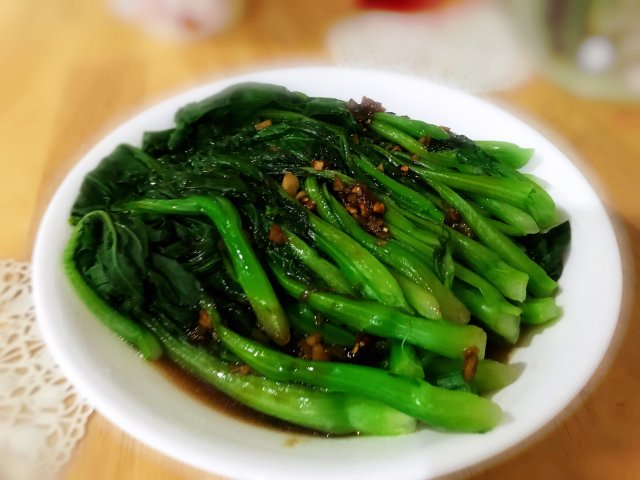 家常菜🥗蚝油菜心