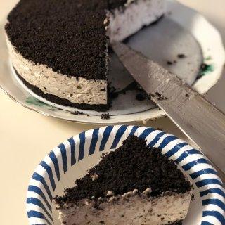 自己动手做甜品|🍪奥利奥奶油乳酪蛋糕🎂...