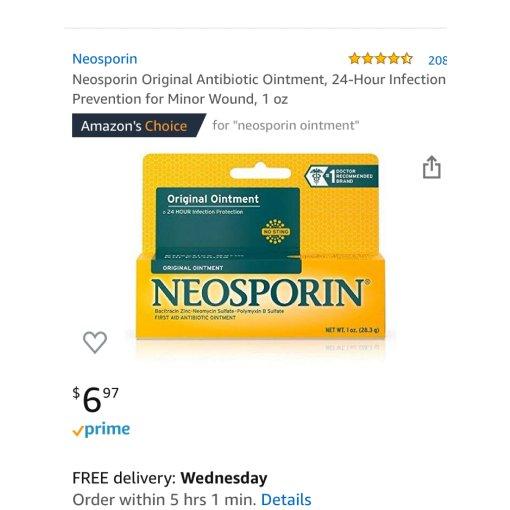 每家都有|止疼抗菌药膏