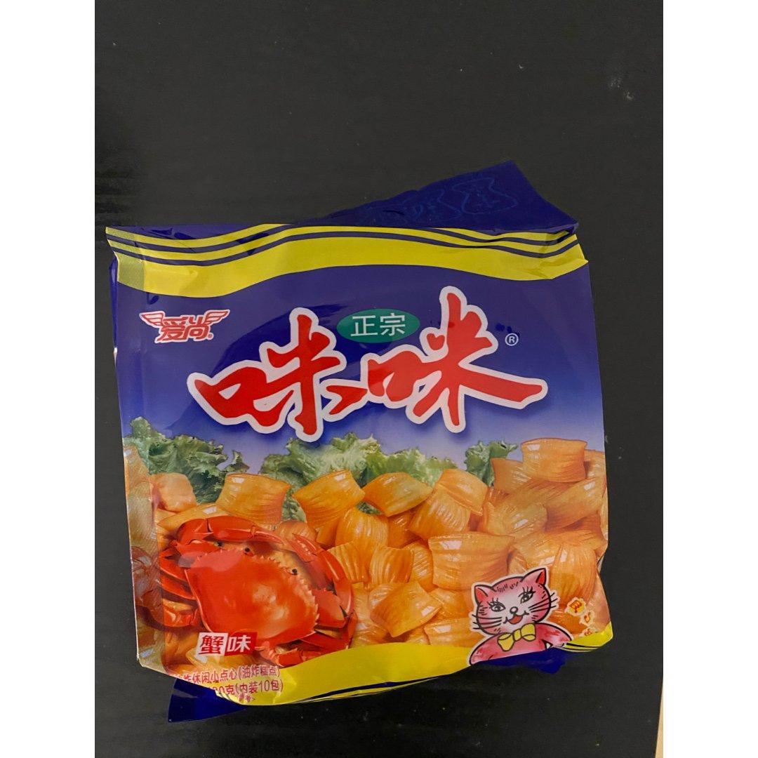 14.咪咪蟹味油炸零食
