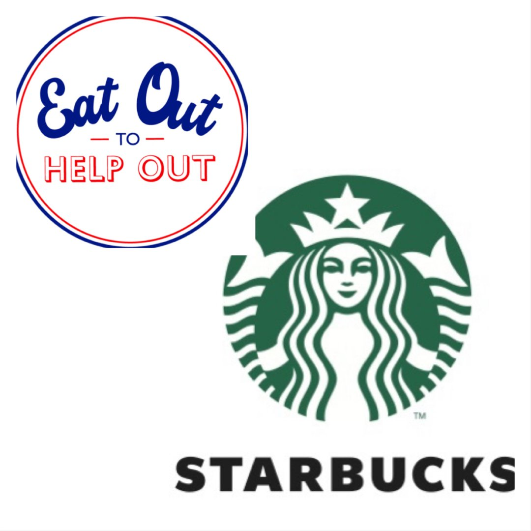 Starbucks 星巴克,Eat out to help out