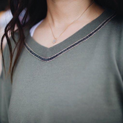 CC玩转衣橱  春夏也能穿的真丝羊绒衫🧶