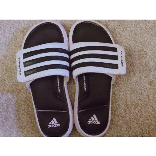 👣居家必备~Adidas阿迪达斯拖鞋👏