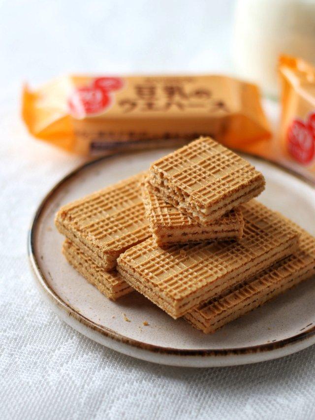 零食推荐丨Bourbon低卡豆乳威化饼干