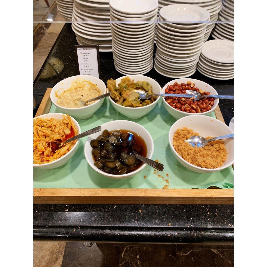 全统广场希尔顿酒店中式早餐自助