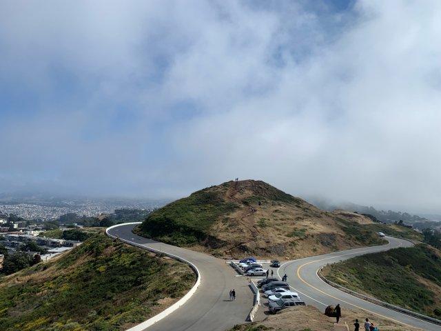 旧金山 | 小众景点 | 双子峰 ...
