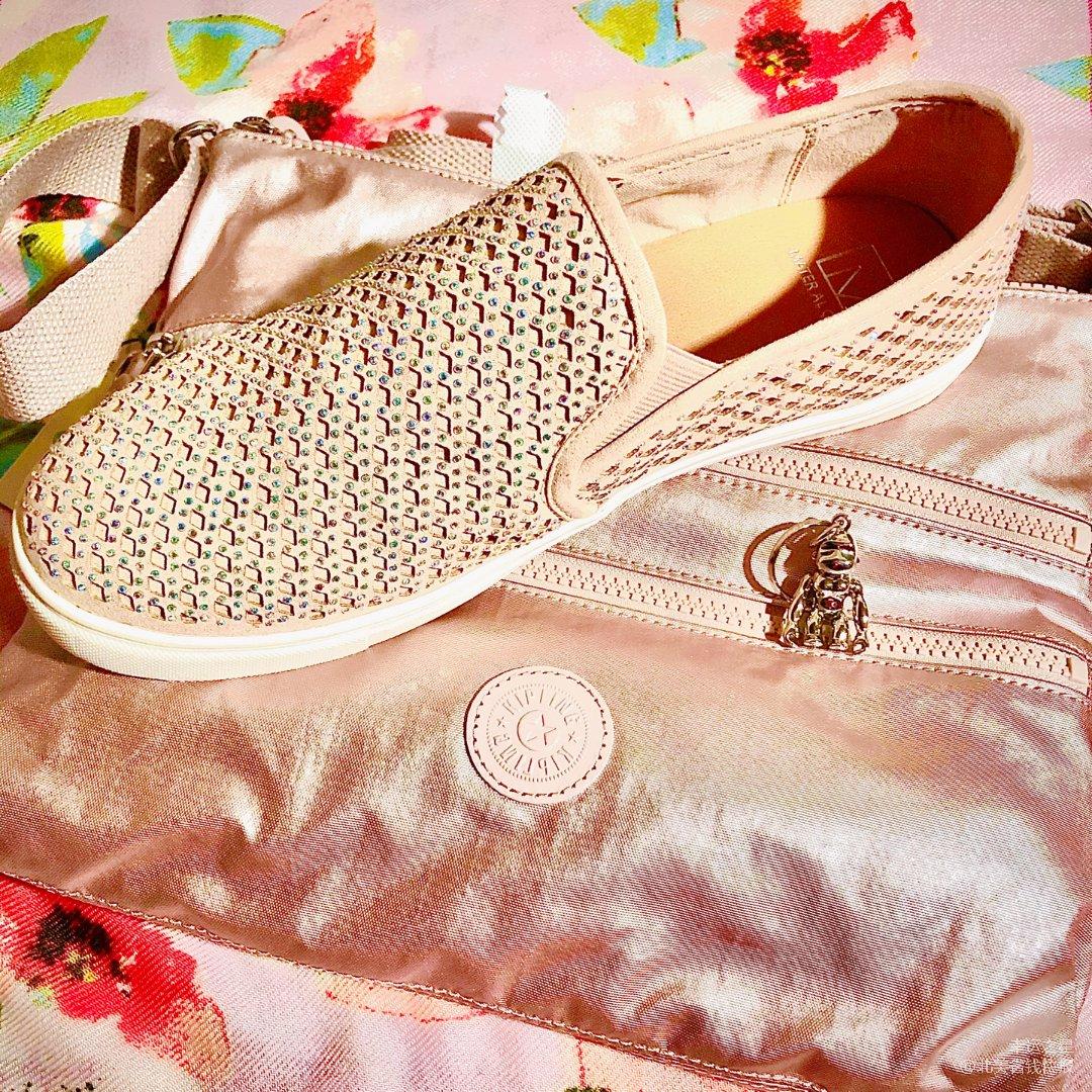 美美滴粉色包包与鞋