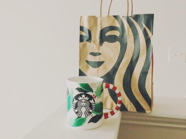 第一只Starbucks杯子