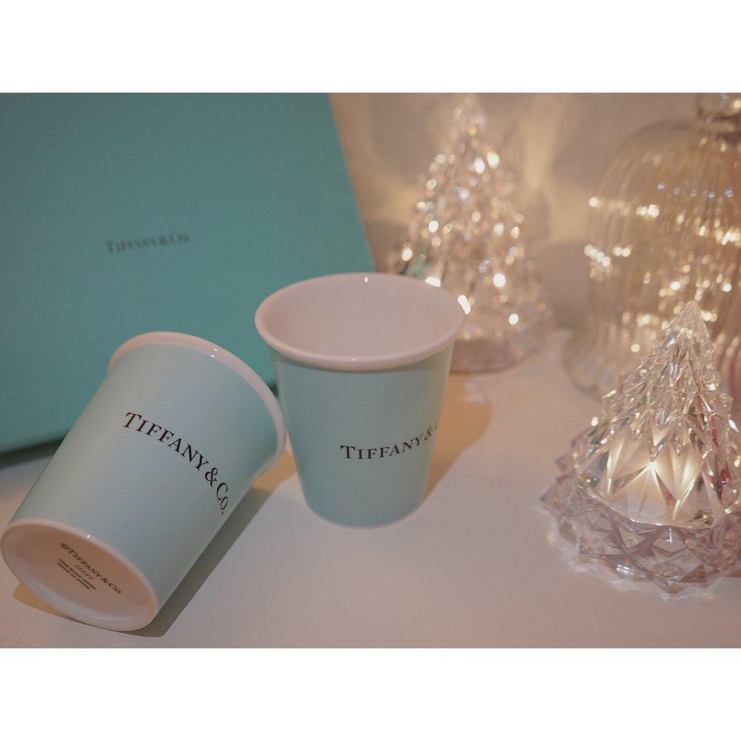 收到朋友送的圣诞礼物 Tiffan...