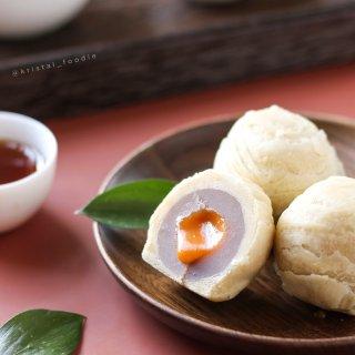 芋头酥➕奶黄流沙包=生计流心芋头酥