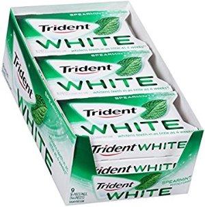 $7.33Trident White Sugar Free Gum (Spearmint, 16-Piece, 9-Pack)