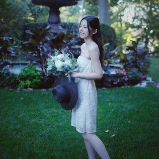 Maje小白裙