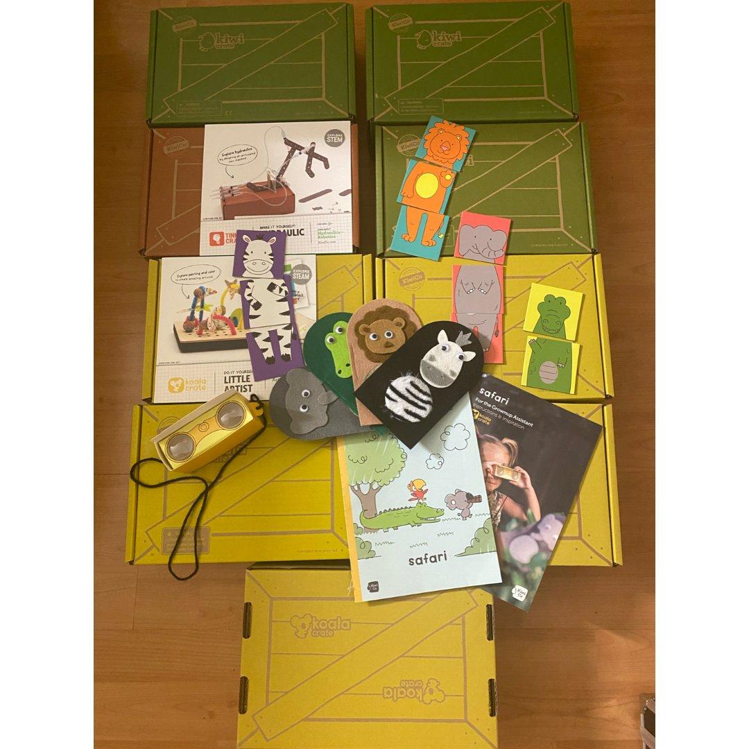 Kiwico儿童手工盒