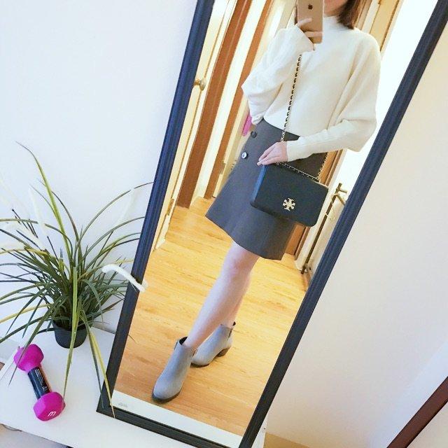 三种靴子哪个搭配这裙子更好呢?图一...