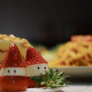 🎄迟到的圣诞晚餐分享🥗🍓🍝🥞🍕...
