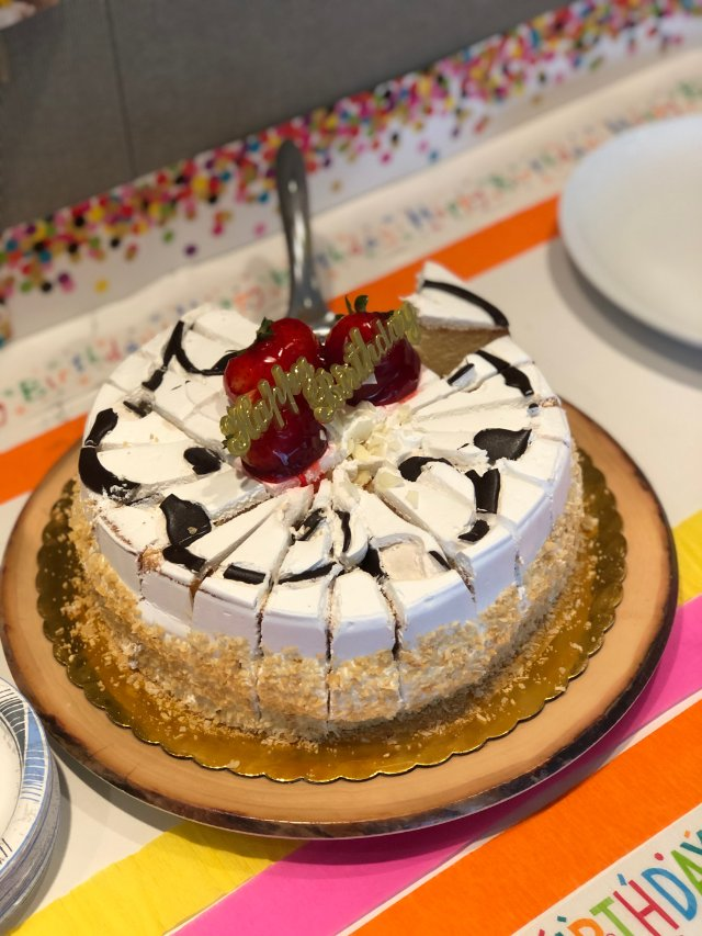 美式生日蛋糕