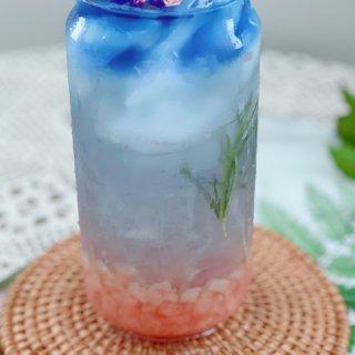 夏日炎炎,请来一杯蜜桃燕窝来解渴