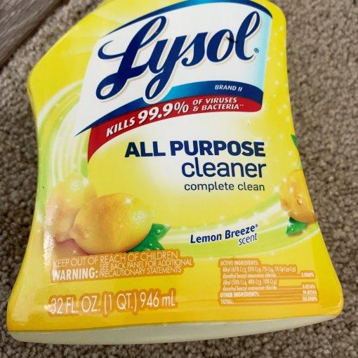 宅家日记【2】Lysol多表面消毒液