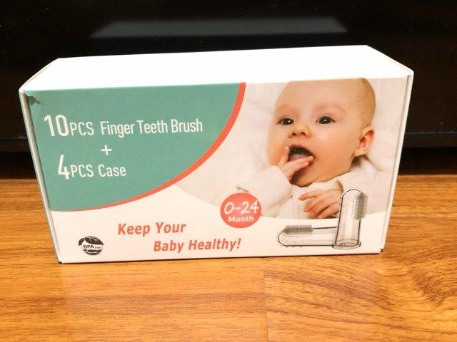 母嬰用品|寶寶的手指牙刷