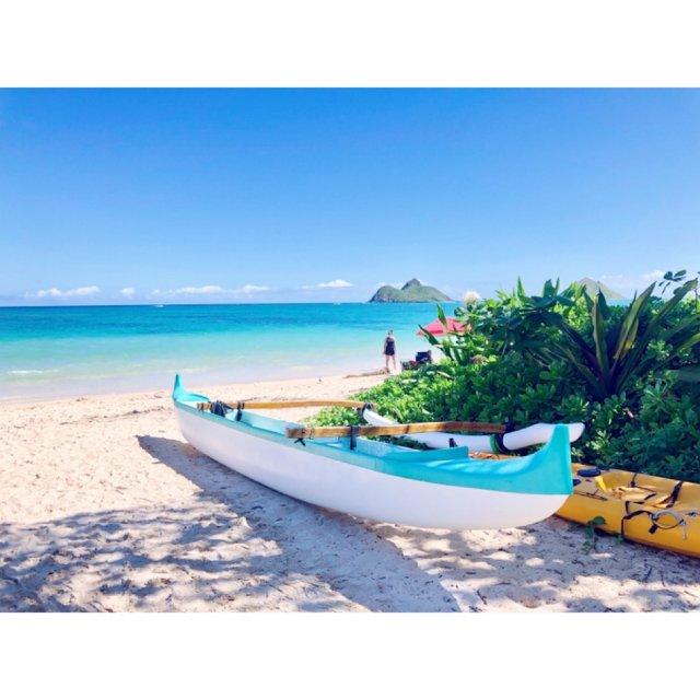 超级美丽的夏威夷Lanikai海滩