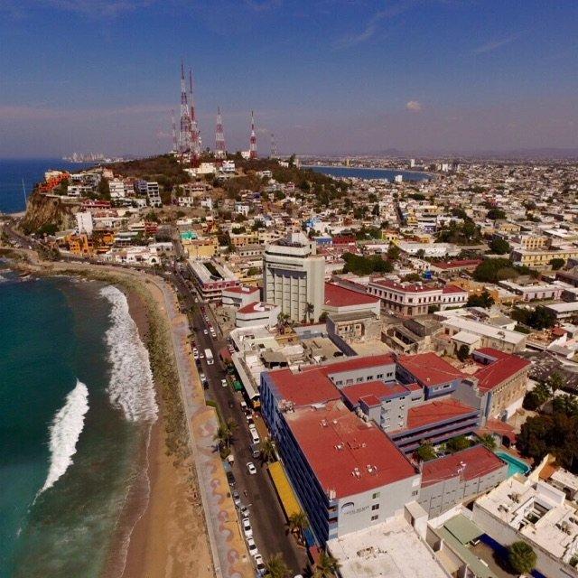 背着无人机看世界之墨西哥邮轮第二站...