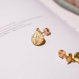 今夏复古必备的金币耳钉,你准备好入了么?