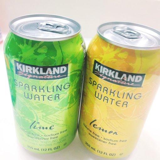 最爱的sparkling water气泡水来自costco