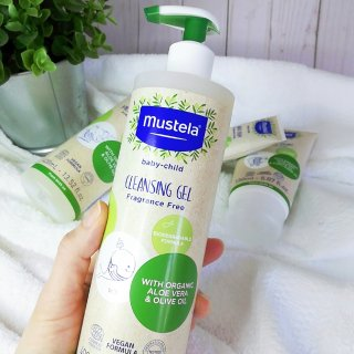 Organic Cleansing Gel with Olive Oil and