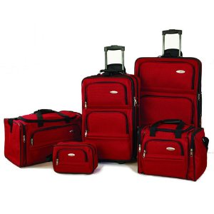 Samsonite 5 Piece Nested Luggage Set @ Buydig.com