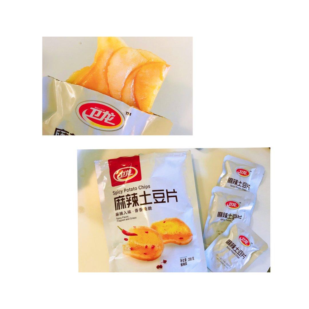 麻辣土豆片|不能错过的小零食
