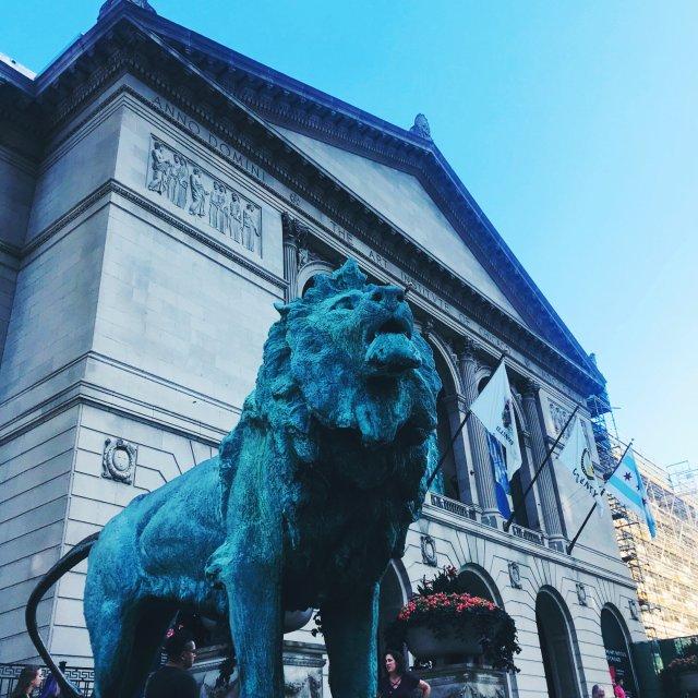 芝加哥   艺术博物馆📷💡🖼🎏👀