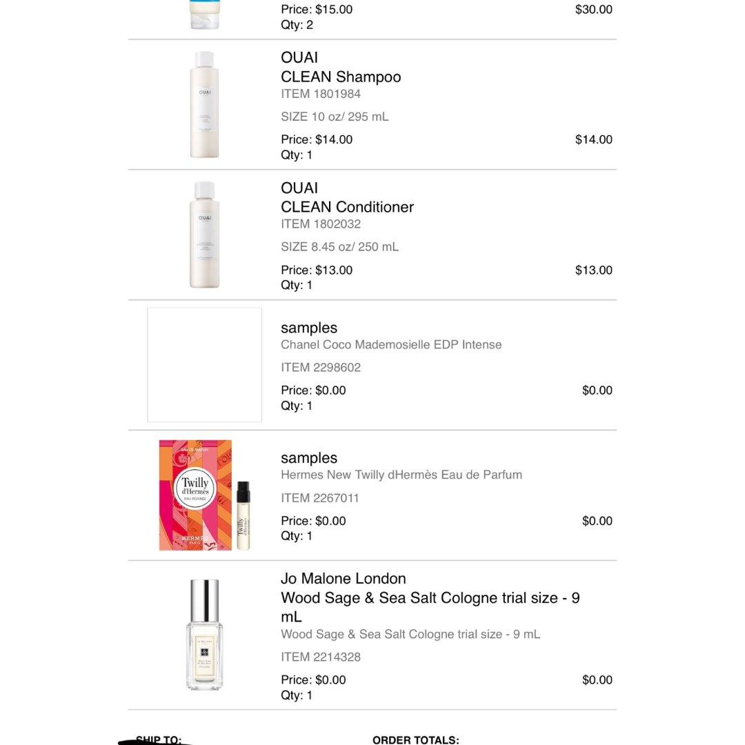 Sephora 半价好折扣!