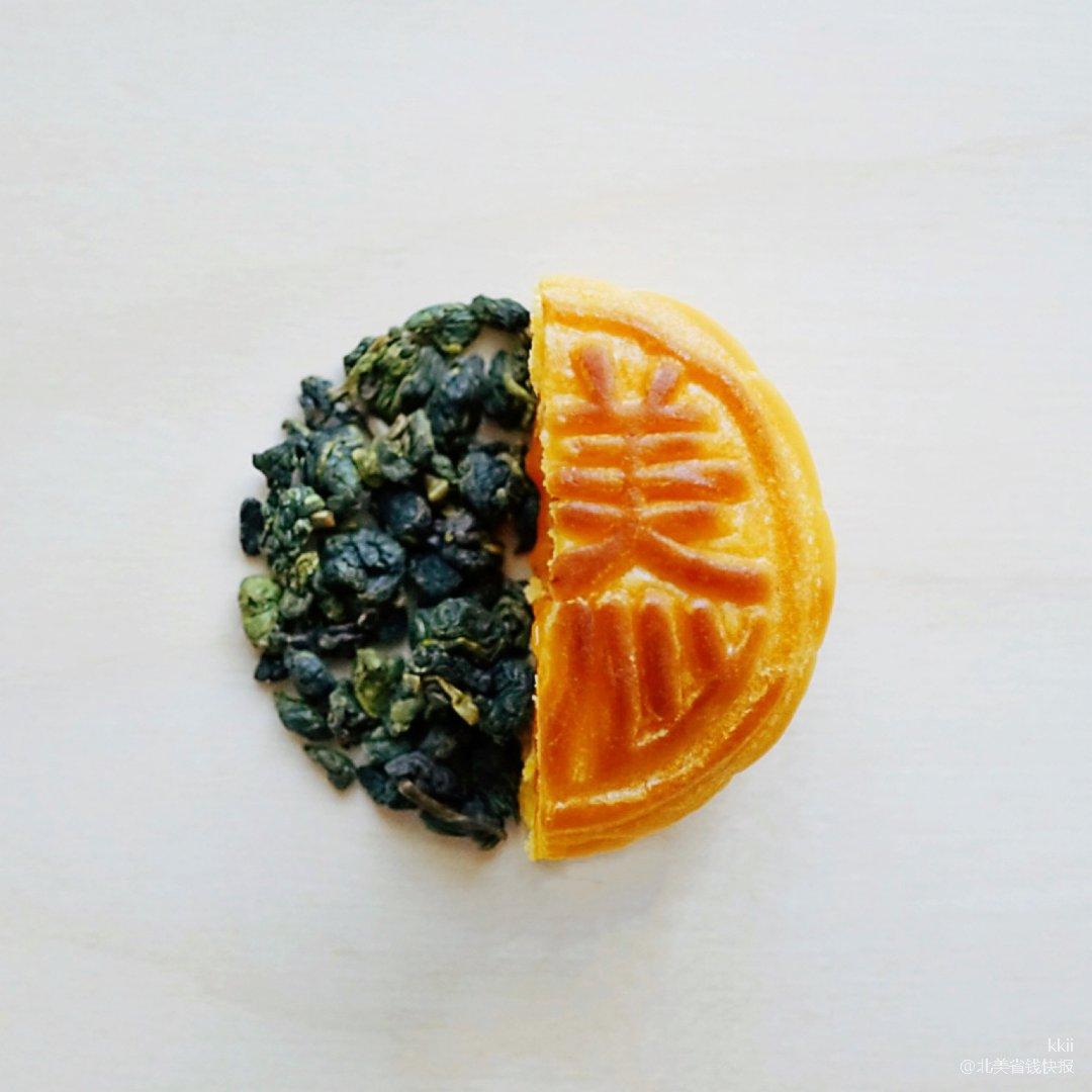 众测✨三五中秋夕🌕美心流心月饼配茶的落胃