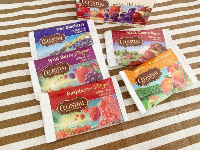 无咖啡因|水果茶|香香水果味|5种口味