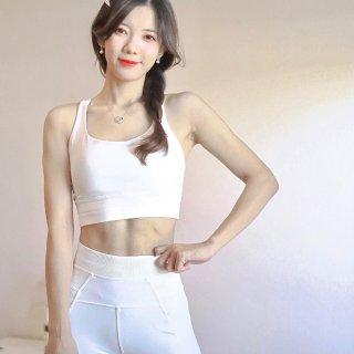 Lululemon的白色雪人⛄⛄运动套装
