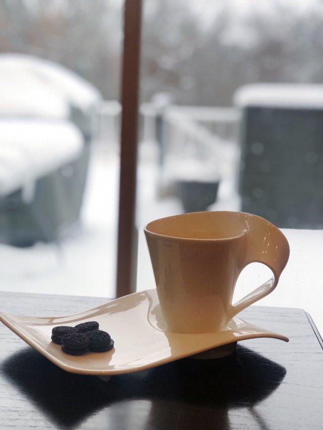 ⛄下雪.在家宅↣