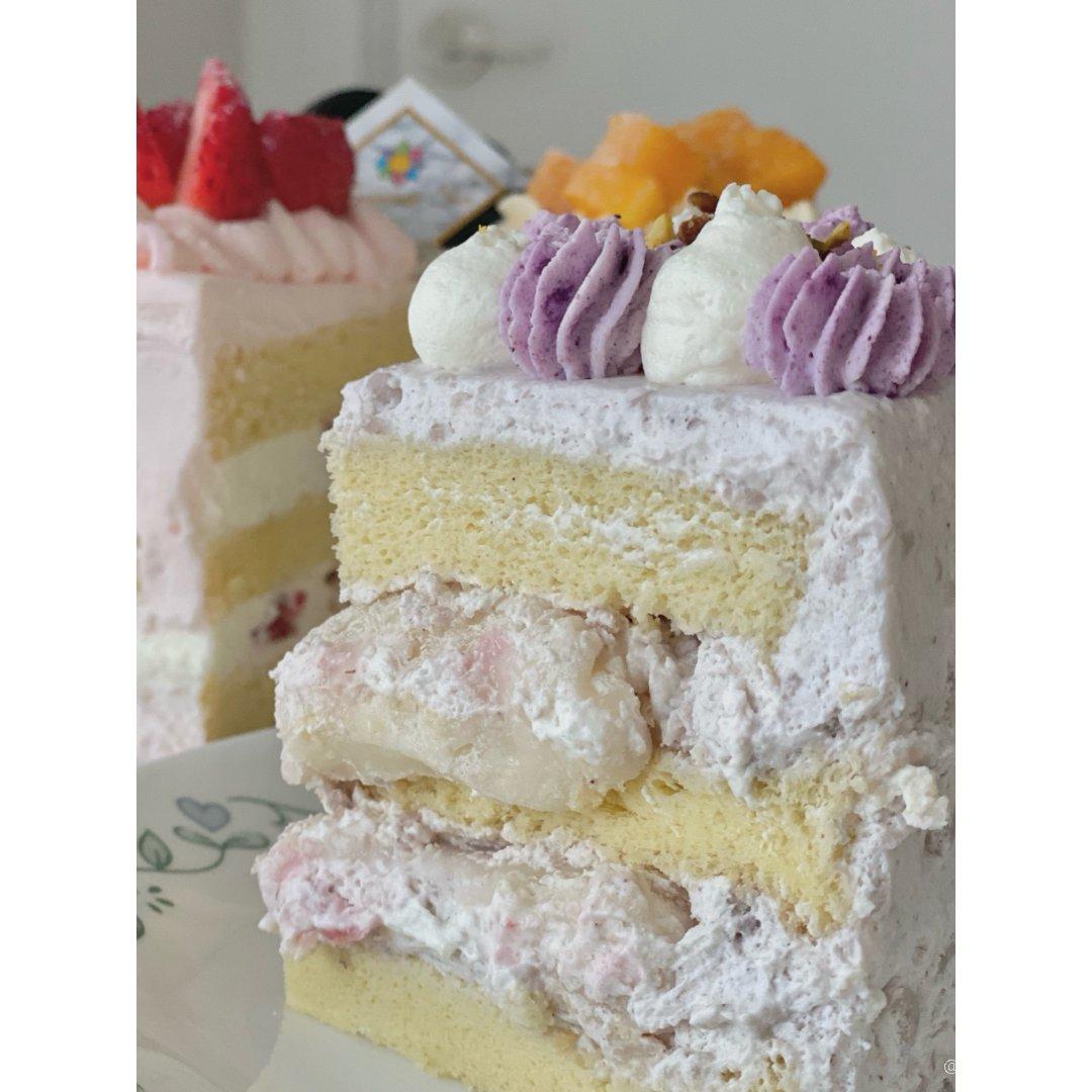 蛋糕➕炸鸡🔥绝配