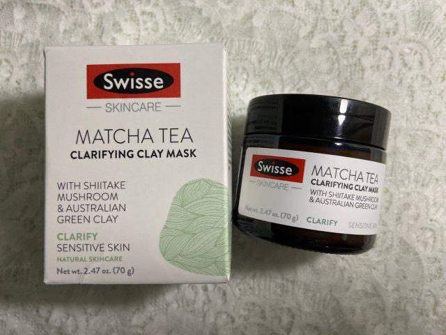 Swisse抹茶舒缓排毒矿物泥清洁面膜…