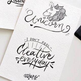 Brush Lettering|继续打卡...
