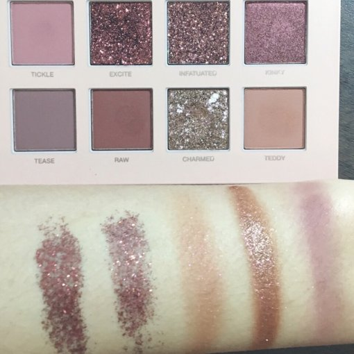 Huda Beauty Nude试色+测评