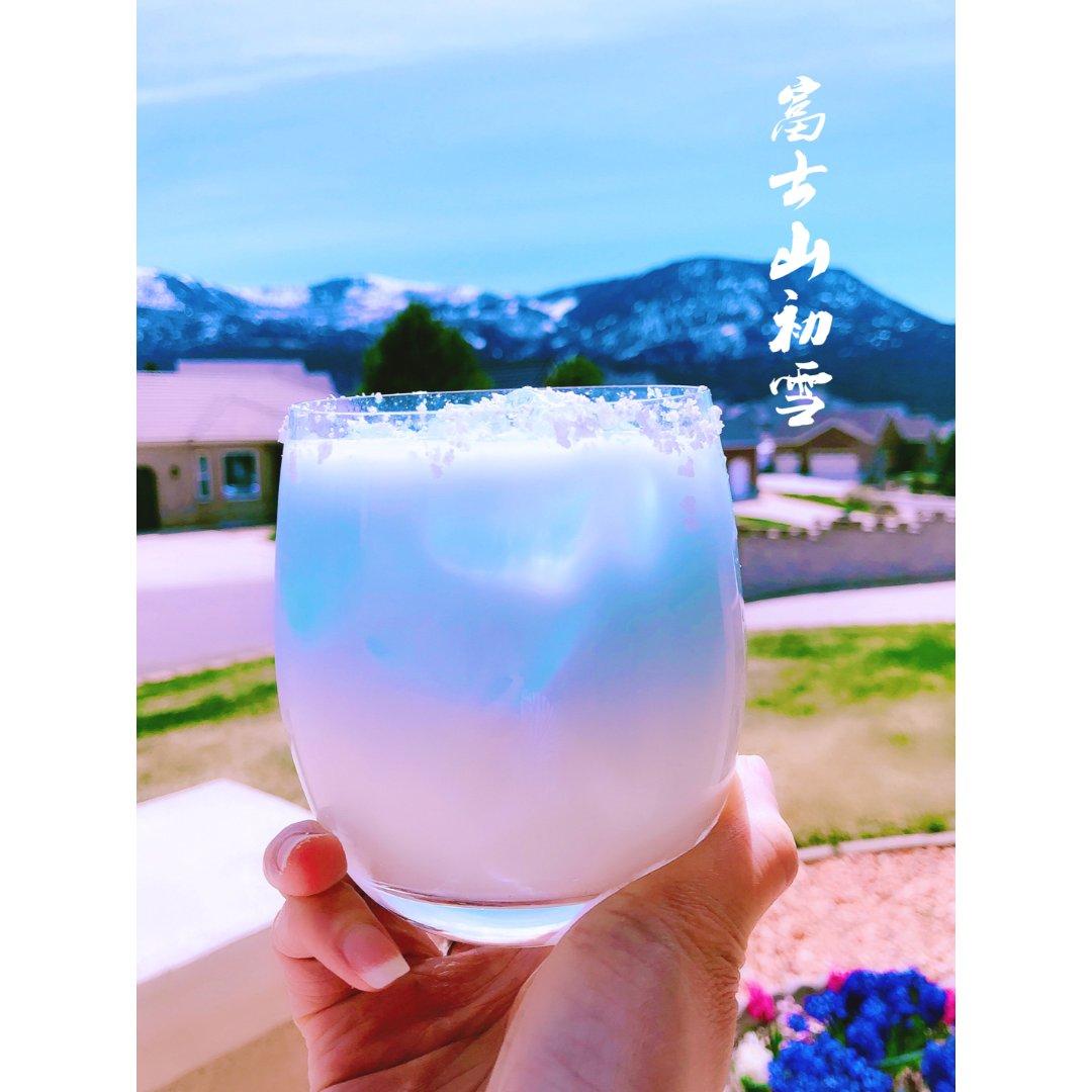 治愈系饮料【富士山初雪】❄️