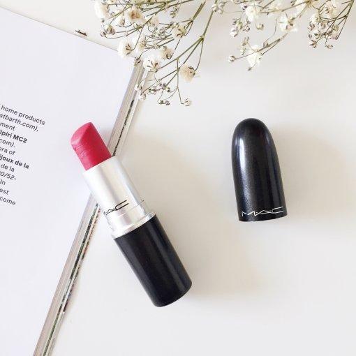 彩妆|MAC Ruby woo 正红复古红色
